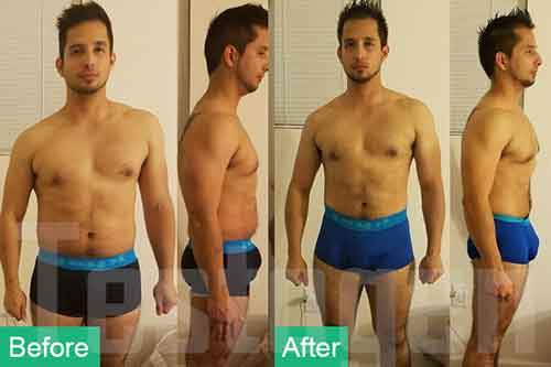 Testogen Before after Gustavo Chacon