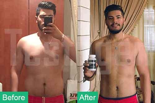 Testogen before and after Habbib Sabbah