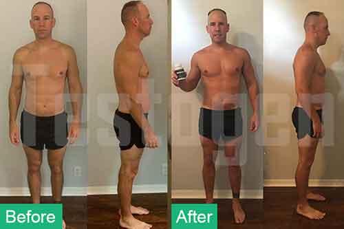 Testogen Before and after Nolan Hilde