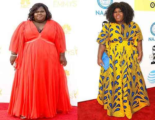 Gabourey Sidibe before after