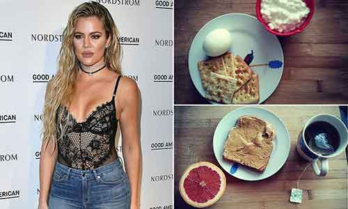 Khloe Kardashian nutrition
