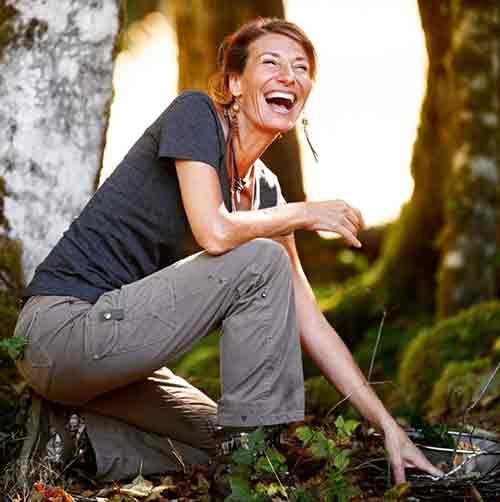 Nicole Apelian laughing