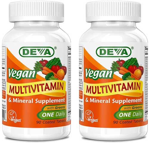 DEVA Vegan Vitamins