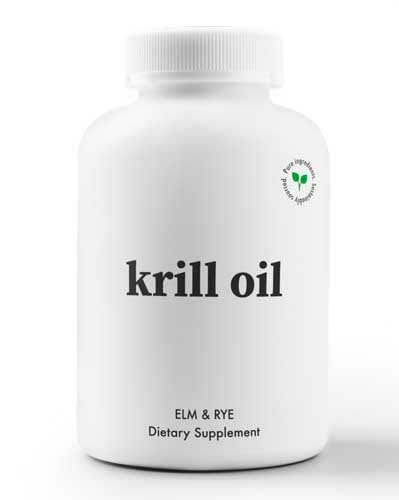 Elm and Rye Krill Oil