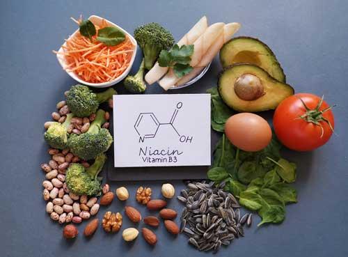 Foods rich in vitamin B3 niacin