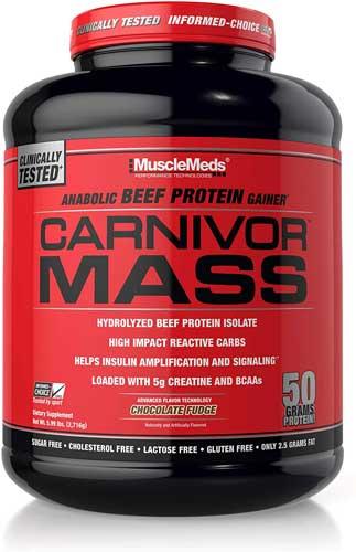 MuscleMeds Carnivor Mass Diet