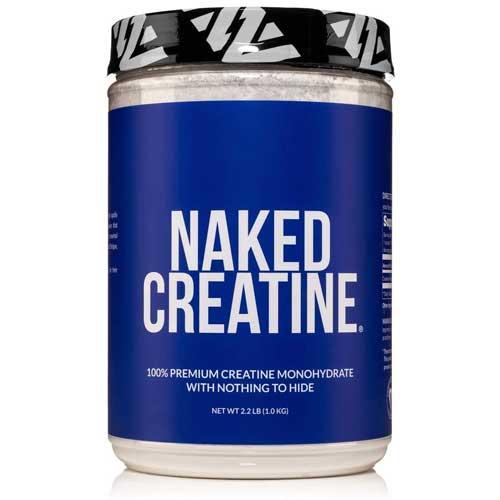 Naked Creatine Monohydrate Powder