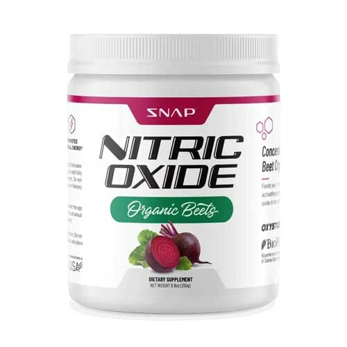 Snap Supplements Nitric Oxide Organic Beets