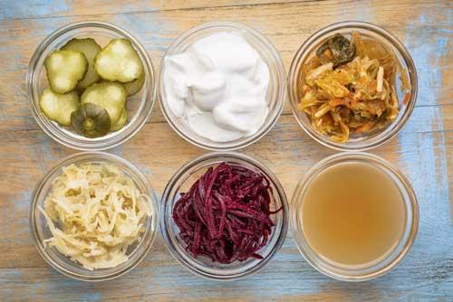 foods for gut health probiotics