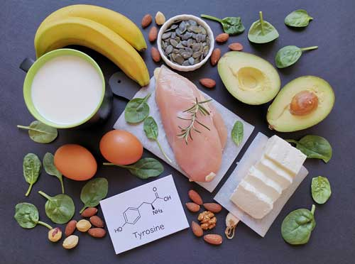 foods rich in Tyrosine