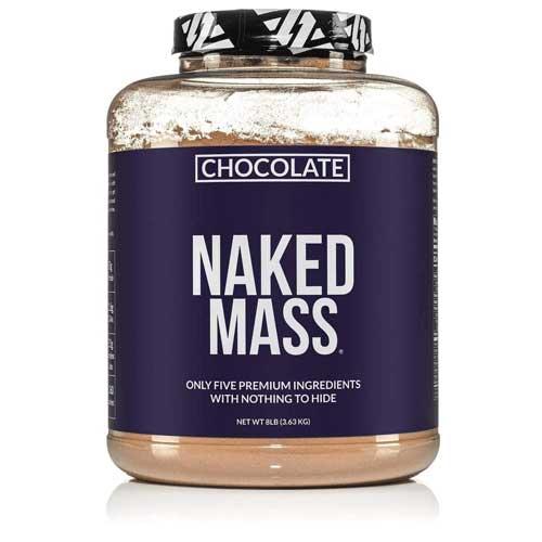 Naked Mass chocolate weight gainer
