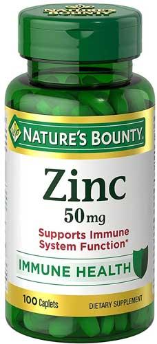 Natur's bounty zinc