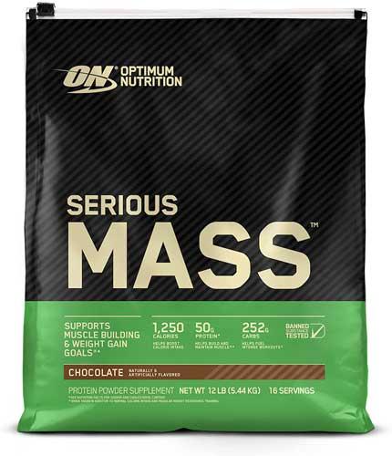 Optimum Nutrition serious_mass gainer