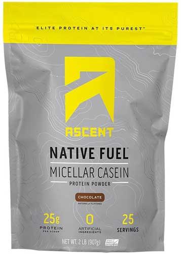 Ascent_Native Fuel Casein Protein Powder