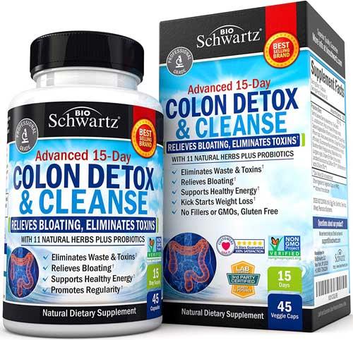 Bio Schwartz Colon Cleanser Detox