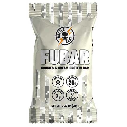 FUBAR Cookies Cream protein bar