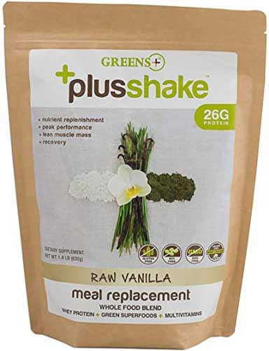 Greens Plus Greens-Based Vanilla Whey Protein