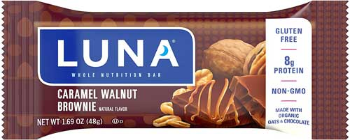 LUNA BAR gluten Free Snack Bars