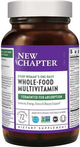 New Chapter Women's Multivitamin