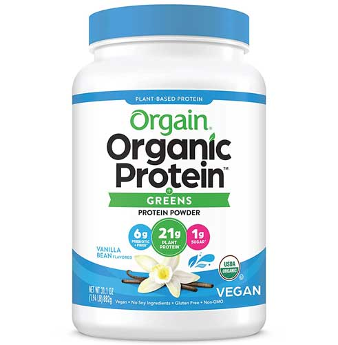Organic Protein and Greens_Plant Based Protein Powder