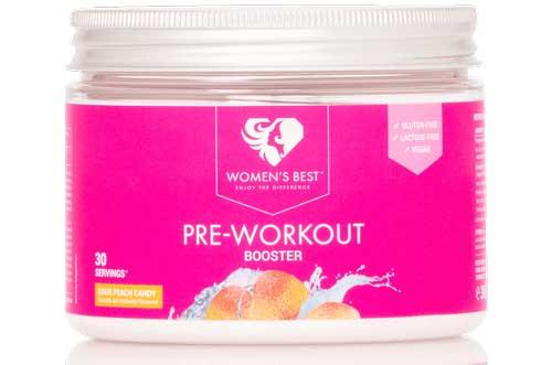 women's best pre workout